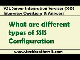 Ssis Interview Questions Ssis Interview Questions Answers What Are Different Types Of Ssis