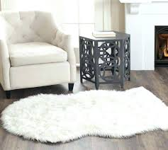faux fur rugs sheepskin area rug gallery of home