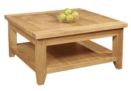 lovely large oak coffee table 2 magnificent black round low square