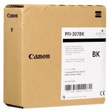 <b>Canon PFI</b>-<b>307BK Black</b> Ink Tank (<b>330ml</b>) for imagePROGRAF ...