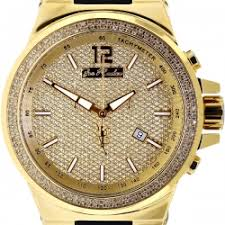 diamond watch joe rodeo liberty jrli3 1 50 ct yellow gold mens diamond watch joe rodeo liberty jrli3 1 50 ct yellow gold
