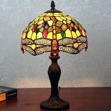 dragon fly tiffany lamps lamp shade value stained glass lampshade for floor shades remodel 13