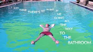 Do women pee in pools