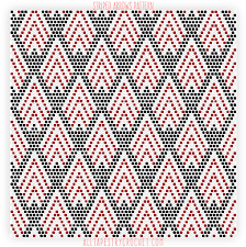 Tapestry Charts Free Striped Arrows Pattern Free Tapestry Crochet Pattern From