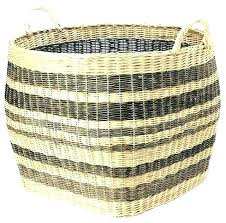 baskets with chalkboard labels small set of 4 pottery barn kids wooden basket in kid