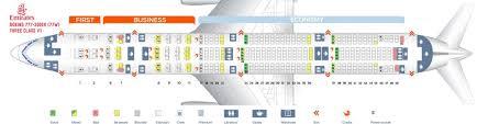 Boeing 777 300er Seating Chart Thai Airways Emirates Fleet Boeing 777 300er Details And Pictures