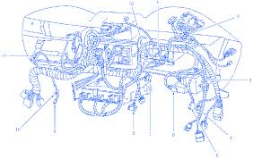 ford mustang gt 2002 under the dash electrical circuit wiring 2002 ford mustang radio wiring diagram ford mustang gt 2002 under the dash electrical circuit wiring diagram