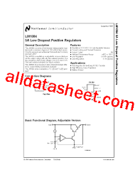 Adjectives Chart Pdf Lm1084isx Adj Datasheet Pdf National Semiconductor Ti