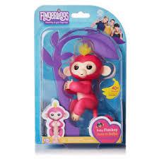 New WowWee Fingerling Interactive Baby Monkey Toy - Bella   eBay