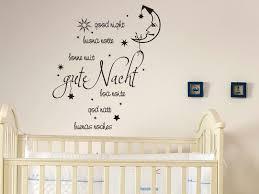 Wandtattoos Kinderzimmer Wandtattoo Gute Nacht