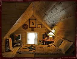 Making an unfinished attic space feel livable