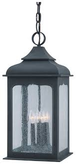 troy f2018ci henry street 23 inch tall large outdoor iron lighting pendant loading zoom