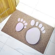 cool ultra thin bath rug with incredible ultra thin bath mat 3d carpet big feet rubber