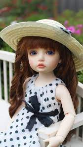 hd wallpaper doll at flowers