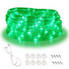 What To Do With Rope Lights Green Rope Lights 16ft Waterproof Connectable And Flexible Led Strip Lights With Advanced Leds And Crystal Clear Thick Pvc Jacket High Brightness