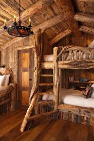 rustic cabin bedroom for the kids fun for the family summer vacation cabin furniture ideas
