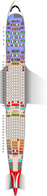 Qantas Airbus A330 200 28j 243y Seat Map
