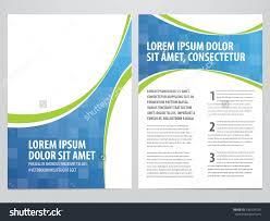 vector business brochure flyer template stock vector  vector business brochure flyer template