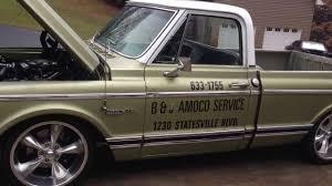 1972 Chevrolet C10 396ci 500hp shop truck - YouTube