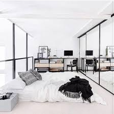 Budget-Friendly Bedroom - Black and white is a great choice for a minimalist  bedroom