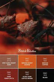 When heated quickly, it turns a dark reddish brown commonly known as burnt sienna. Leaf Drops Orange Color Schemes Orange Color Palettes Brown Color Palette