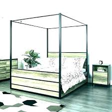 Twin Canopy Bed Frame White Twin Canopy Bed Frame – imperiaonline.me