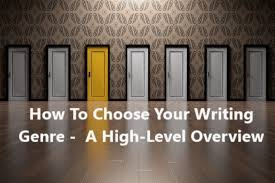 How To Choose Your Writing Genre A High Level Overview Wtd