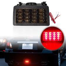 Wrx F1 Fog Light Amazon Com 1x F1 Style Lens Led Lamps For Subaru Wrx Sti Xv