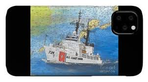 Coast Guard Chart Art Cathy Peek Us Coast Guard Nautical Chart Map Art Wall Art