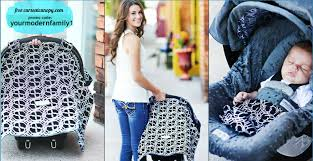 FREE carseat canopy best baby shower t Your Modern Family