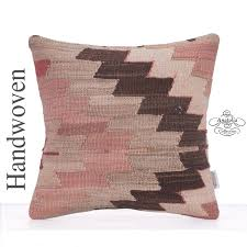 Designer Decorative Pillows For Couch Vintage Kilim Rug Pillow 100 Tribal Designer Decorative Cushion 92