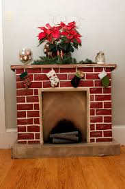 brilliant decoration cardboard fireplace 365 days to simplicity chestnuts roasting on an cardboard fire