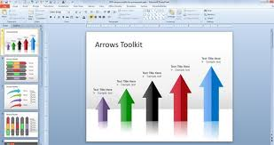 Microsoft Powerpoint Templates 2007 Free Download Free Arrows Toolkit For Powerpoint Presentations Free Download