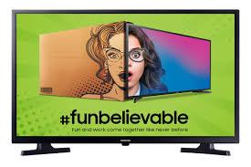 Samsung 80 cm (32 Inches) HD Ready LED TV UA32T4010ARXXL (Black) (2020  model)- Buy Online in Qatar at qatar.desertcart.com. ProductId : 188855037.