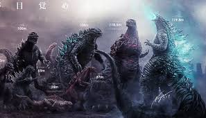 Monster Hunter World Size Chart Artists Epic Godzilla Size Chart Highlights How Much The