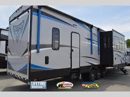 forest river cherokee vengeance fifth wheel toy hauler rear r