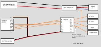 help getting started 550e helifreak also picked up a new talon 90 esc thanks dcflyer for the suggestions now i m digging through the wiring does the below look correct