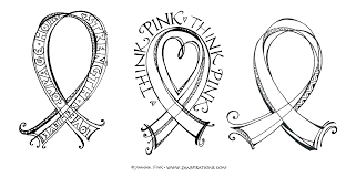 Small Picture Think Pink Free Downloadable Coloring Pages Zenspirations