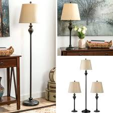 sets lighting table floor lamp set vintage bronze contemporary lamps for photography