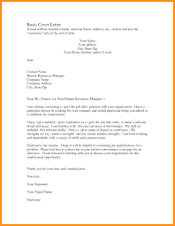 Quick Resume Cover Letter 100 writing a basic cover letter agenda example 32
