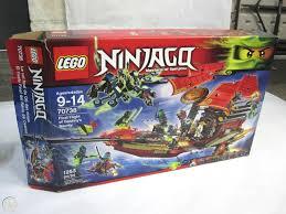 LEGO Ninjago 70738 Final Flight of Destiny's Bounty (NEW Open Box)