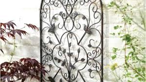 outdoor cast iron wall decor