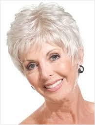 short hair cut for women over 60