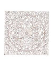carved wood wall decor medallion wall