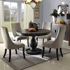 amazing grey round kitchen table with leaf dining room sets from
