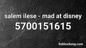 70 roblox tiktok music codes working id 2020 2021 p 32. Salem Ilese Mad At Disney Roblox Id Roblox Music Codes