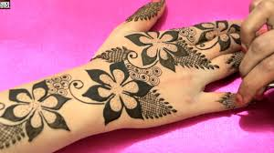 Best Mehndi Design Video Gulf Mehandi Design Compilation Videos Best Easy Floral Henna Mehndi Designs For Hands