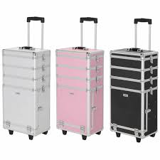 dels about large professional cosmetic makeup trolley vanity case storage hairdressing box