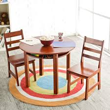 dinning room furniture toddler eating table set espresso kidkraft round and chairs full size of