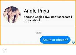 Troll Priya Angel Hahahha Facebook -